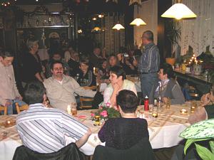 Jahresabschlussessen 2006