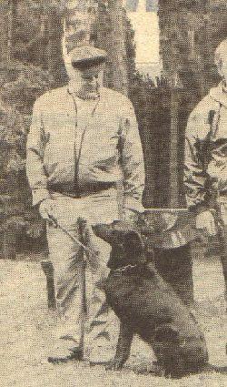Hans Dier mit Lucie